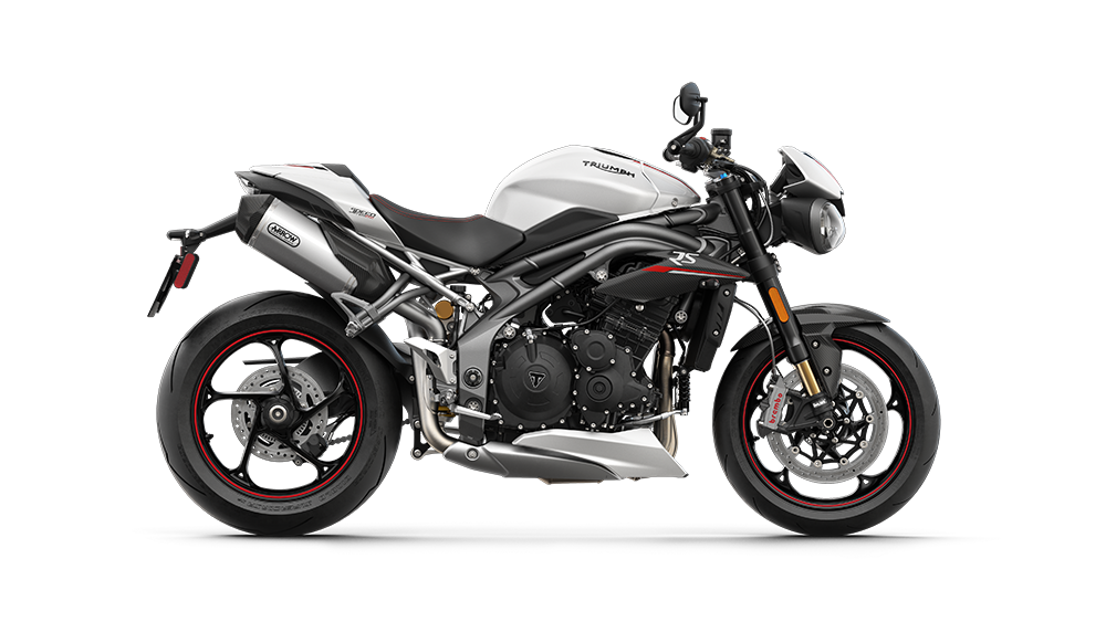 Speed Triple RS - RHS Crystal White